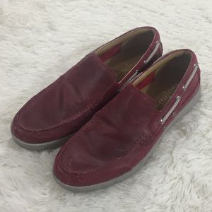 Cole Haan Travel Venetian II red loafers size 10